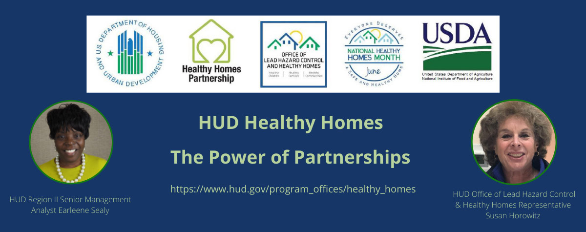 [The Power of Partnerships: Healthy Home Month Webinar Highlights Resources for Homeowners and Renters].