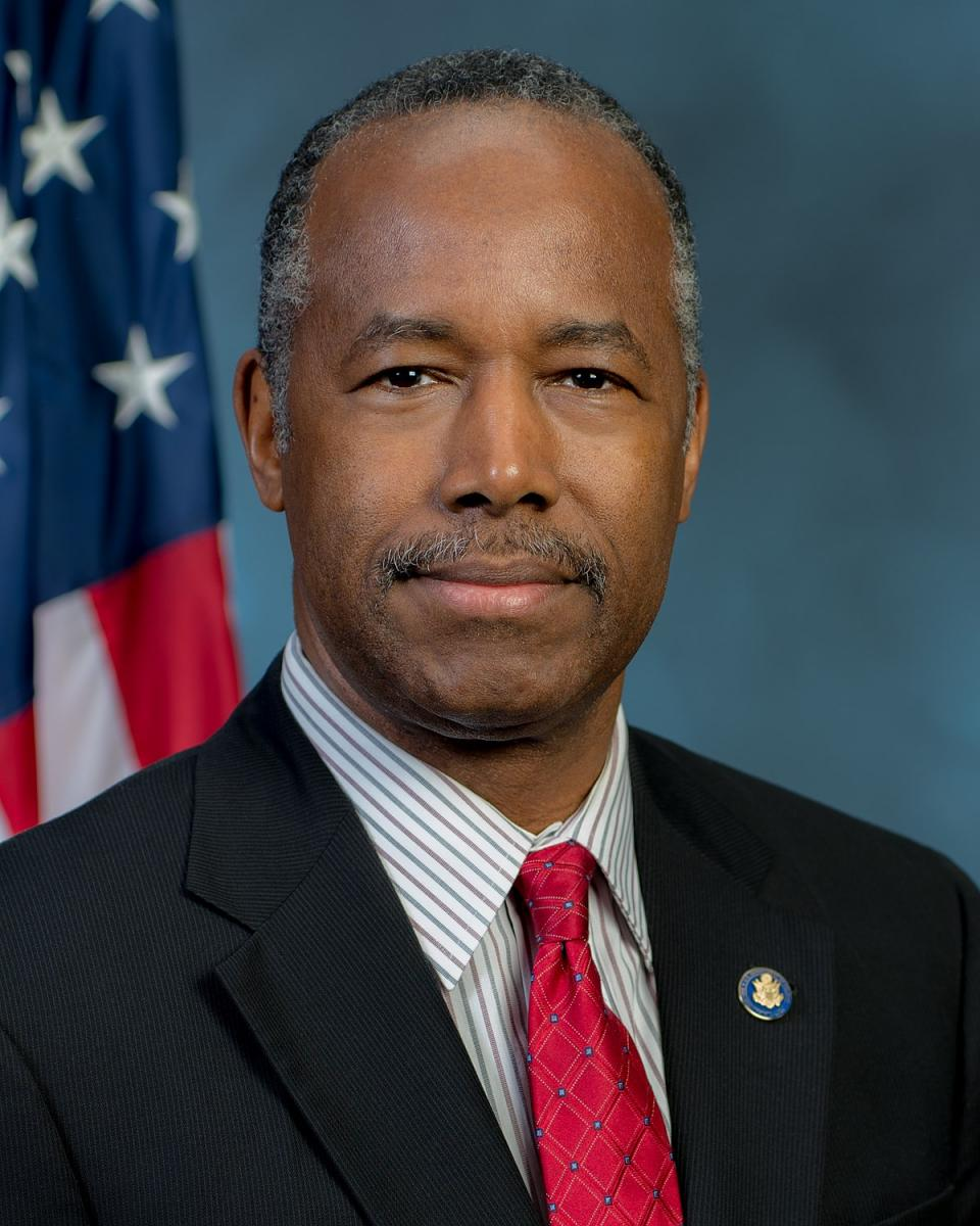 [Secretary Ben Carson, U.S. Department of Housing and Urban Development]