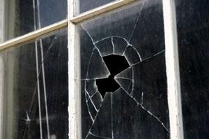Cracked/Broken/Missing Panes (Windows – Building Exterior). HUD Photo