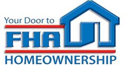 [FHA Door to Homeownership logo]. HUD Photo