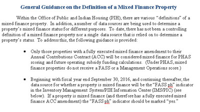 Mixed Finance Properties. HUD Photo