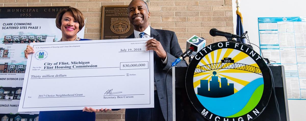 [HUD Awards $144 Million to Revitalize Five Neighborhoods].
