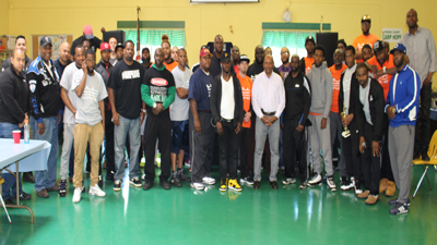 [Men of all ages attend Father's Day retreat hosted by the Paterson, NJ Housing Authority]