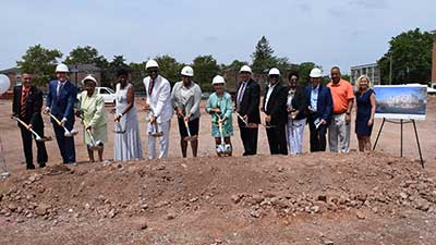 [Montgomery Heights II groundbreaking 07-28-17]