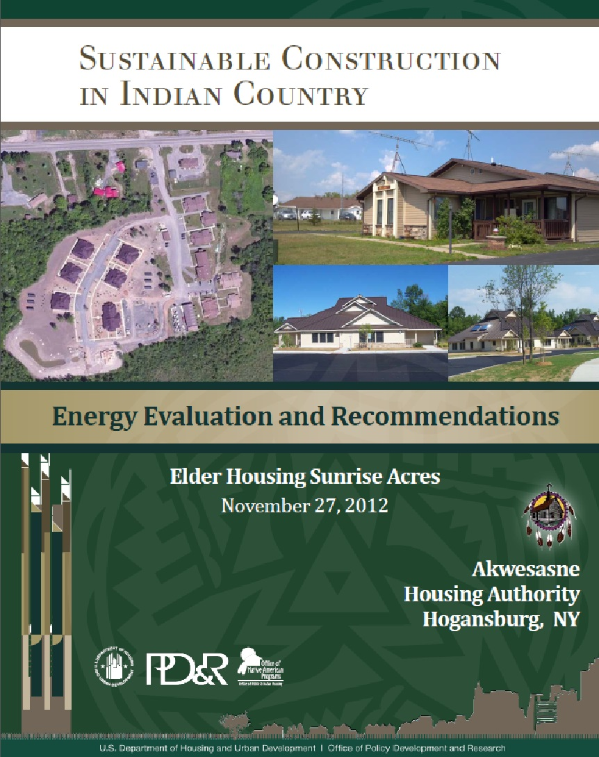 Energy Evaluation and Recommendations: Elder Housing Sunrise Acres