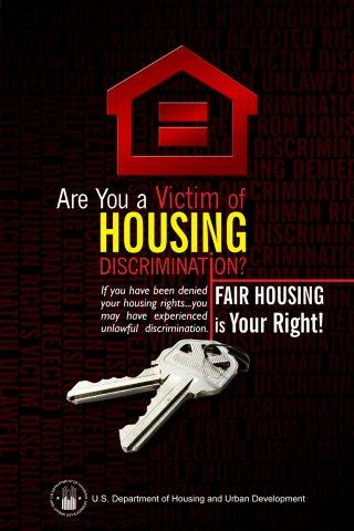 Are You a Victim of Housing Discrimination? brochure cover