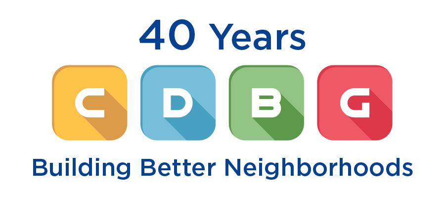 CDBG 40th Anniversary