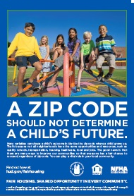 A ZIP CODE  SHOULD NOT DETERMINA A CHILD'S FUTURE