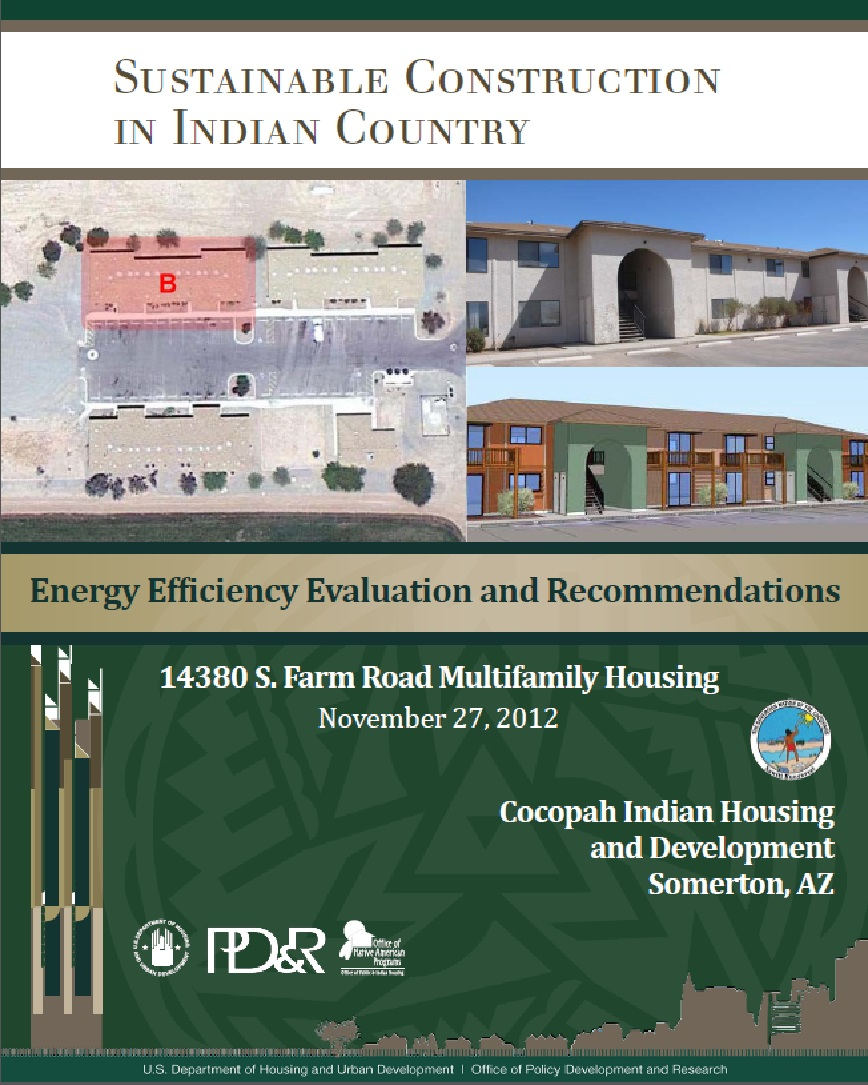 Energy Efficiency Evaluation and Recommendations: 14380 S. Farm Road Multifamily Housing
