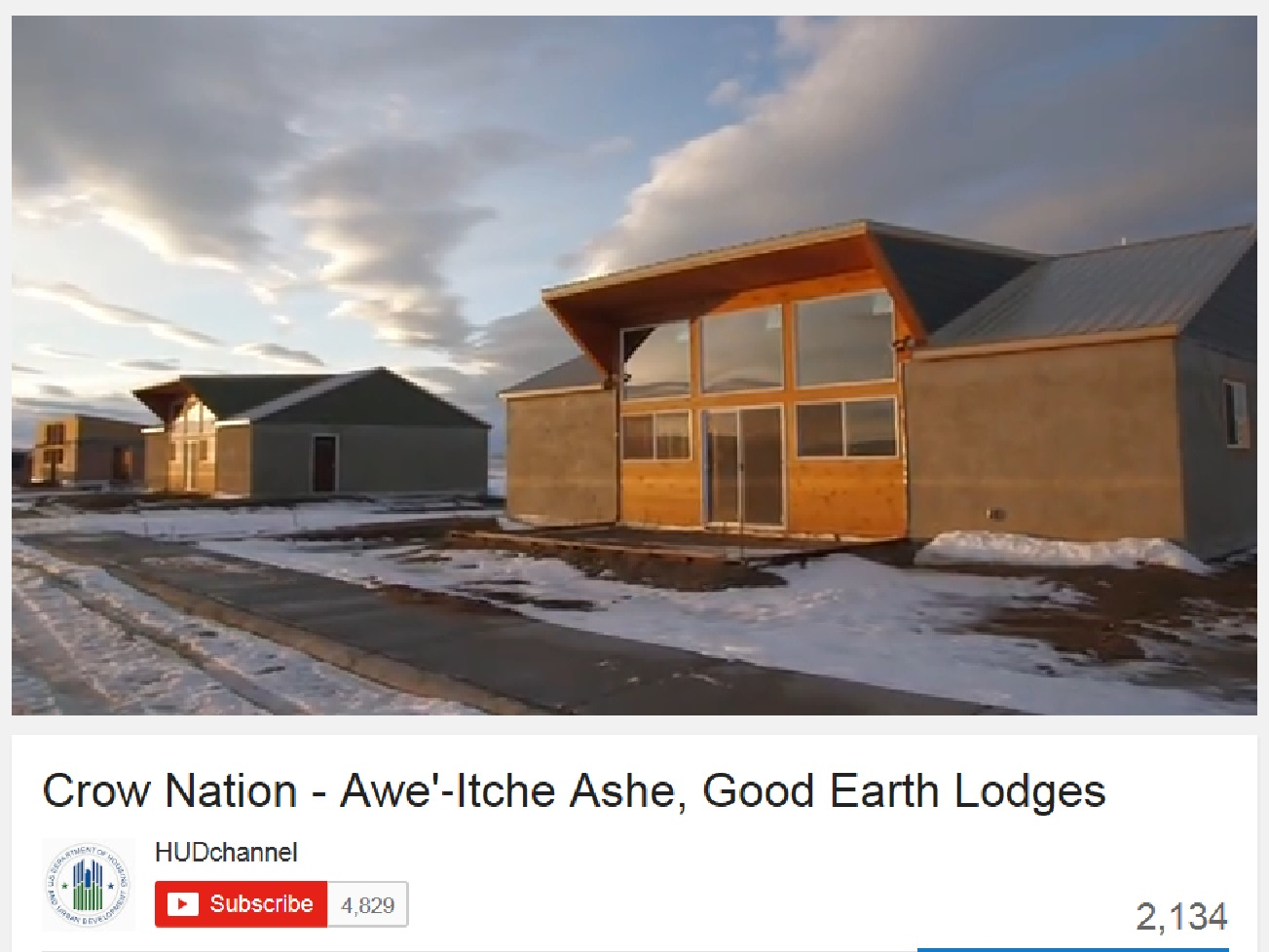 Awe  Itche Ashe, Good Earth Lodges