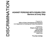 Discrimination Against Disabilities