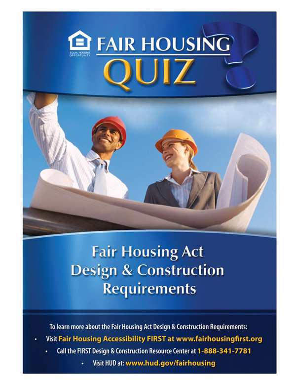 Fair Housing Design and Construction Requirements quiz