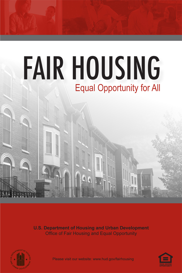 Fair Housing and Equal Opportunity for All booklet cover