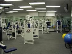 Image of HUD's fitness center