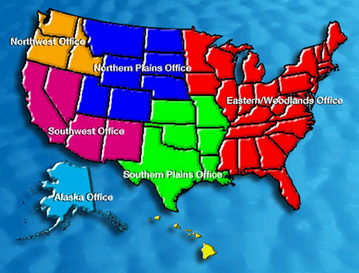 clickable map of the us