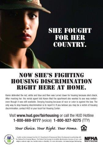 She Fought for her Country poster
