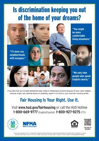 Is Discrimination Keeping You Out of the Home of Your Dreams? poster