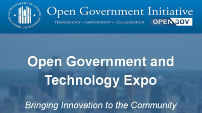 [Open Government and Technology Expo]