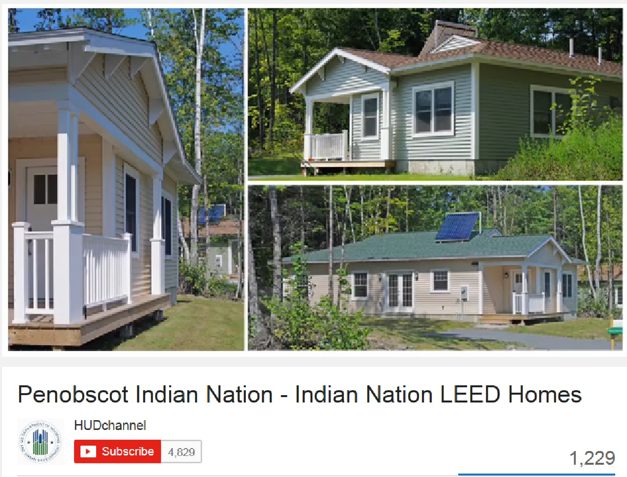 Penobscot LEED Homes
