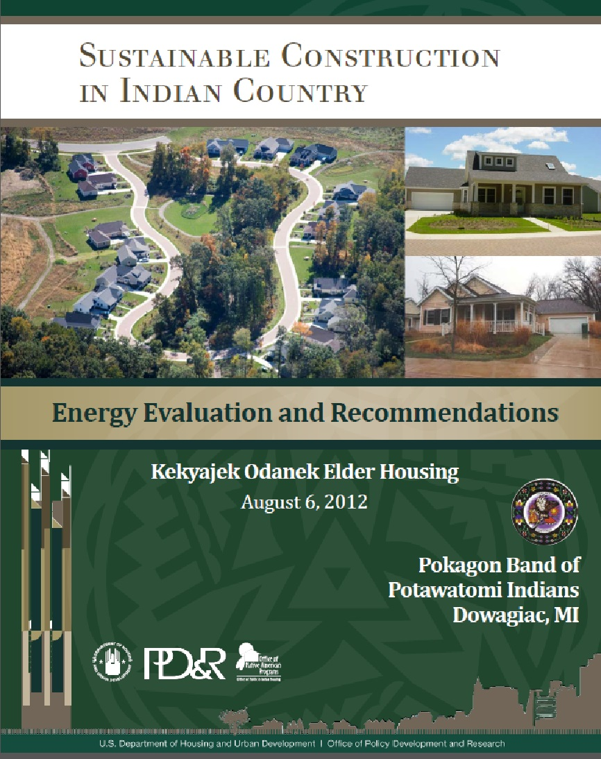 Energy Evaluation and Recommendations: Kekyajek Odanek Elder Housing