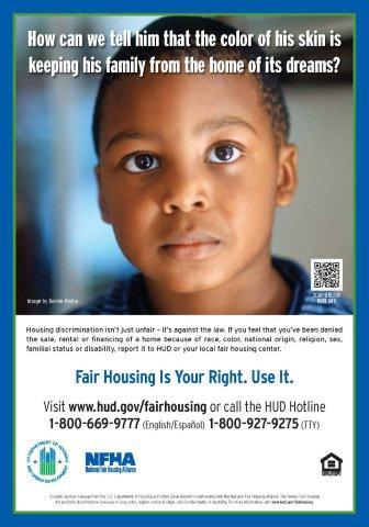Race Discrimination poster