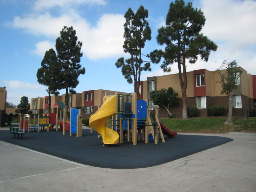 Sea Breeze Apts Playground Area Sea Breeze Gardens Is Home To 268 Low Income  Seniors And Families In San Diego, California.