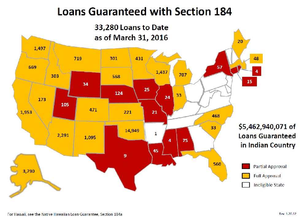 Section Indian Home Loan Guarantee Program HUD HUDgov - House pricing in us map