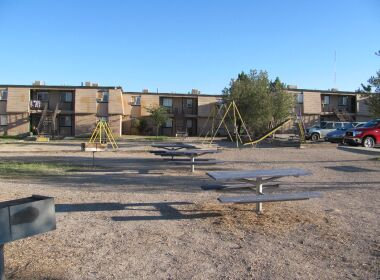 Playground at site.