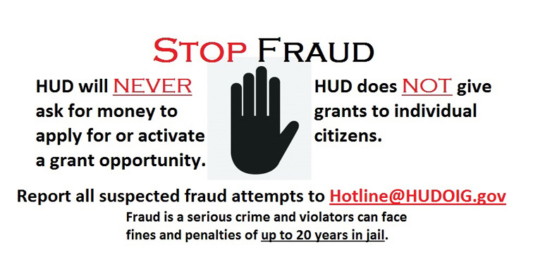 Image of the Grants Stop Fraud