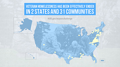 These communities have ended veteran homelessness