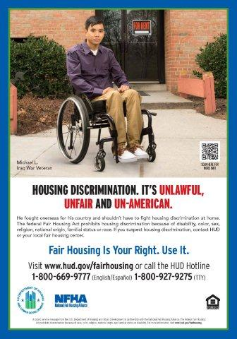 Disabled Veteran poster
