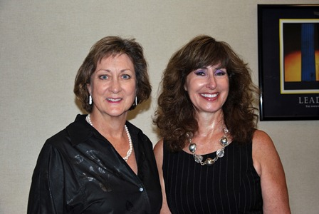 Jane C.W. Vincent (lf) and Joanne Grossi