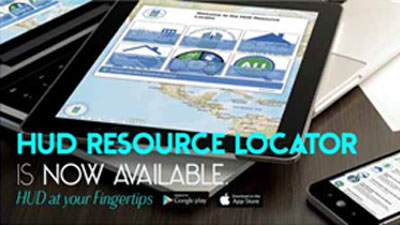 HUD Resource Locator banner